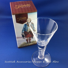 The Jacobite Dram Glass